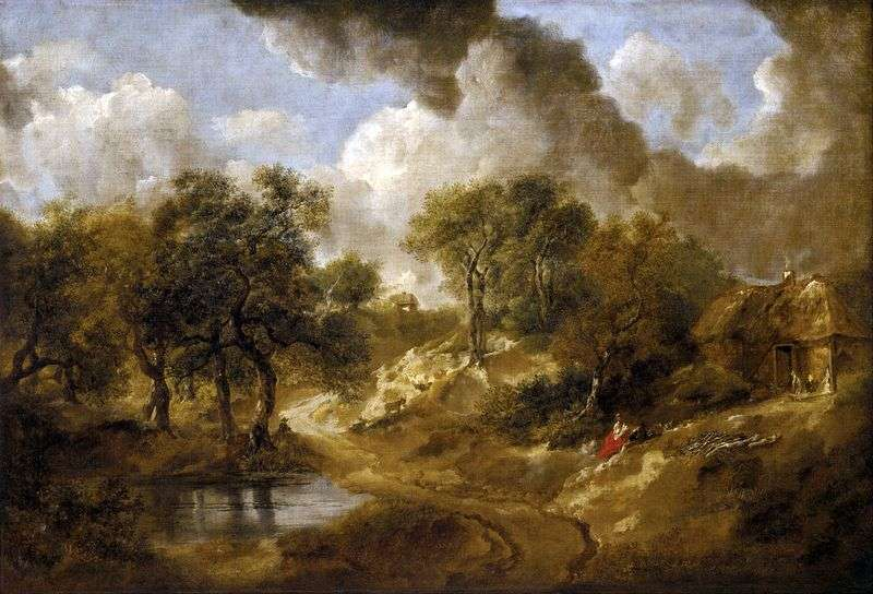 Paesaggio in Suffolk   Thomas Gainsborough