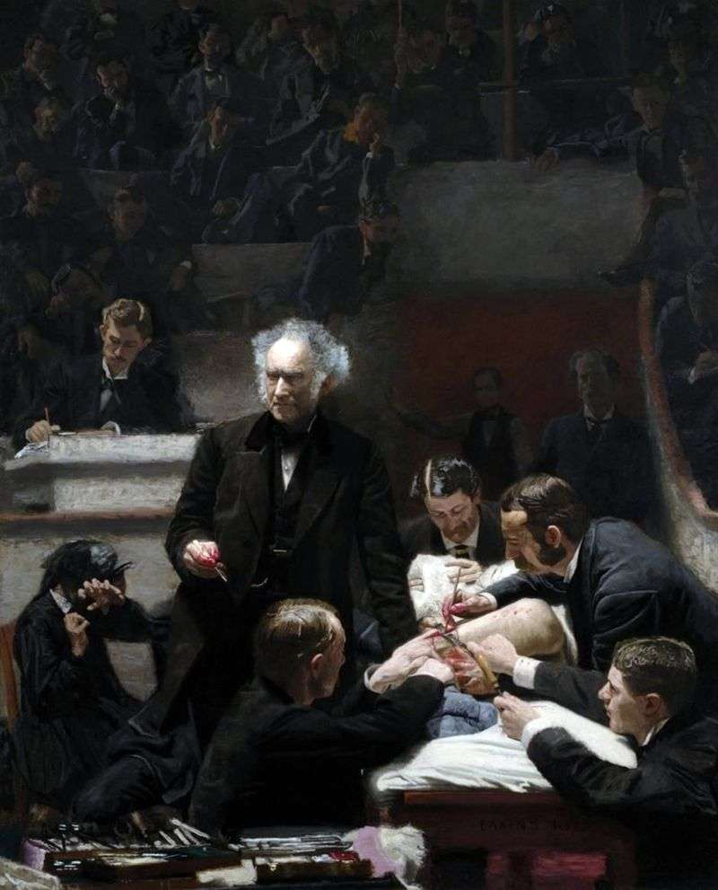 Clinica lorda   Thomas Eakins