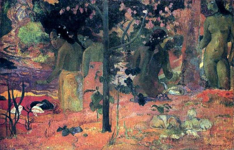 Bagnanti   Paul Gauguin