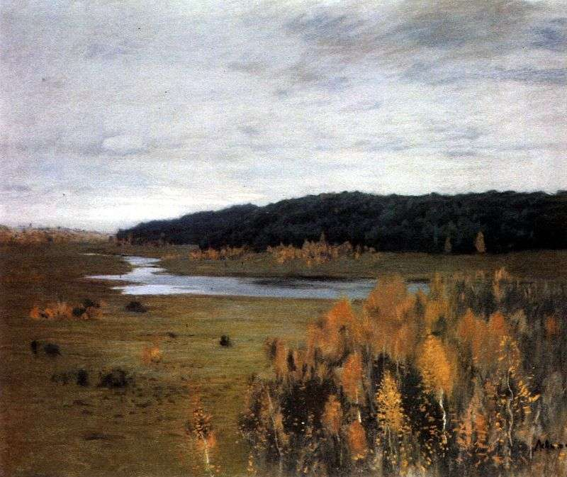 River Valley   Isaac Levitan