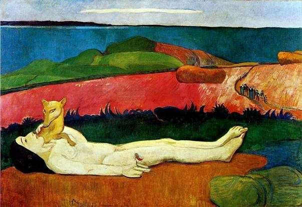 Perdita di innocenza   Paul Gauguin