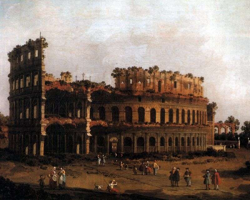 Colosseo   Antonio Canaletto