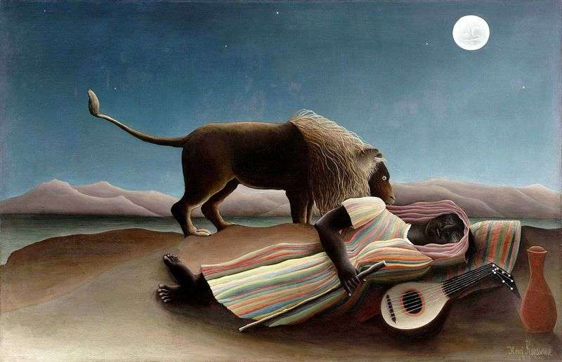 Gypsy Dream   Henri Rousseau