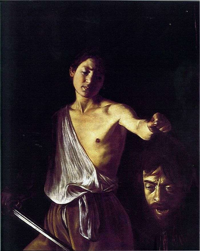 David con Goliath Head   Michelangelo Merisi da Caravaggio
