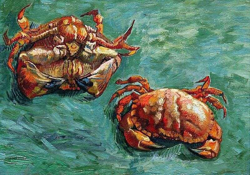 Two Crab   Vincent Van Gogh