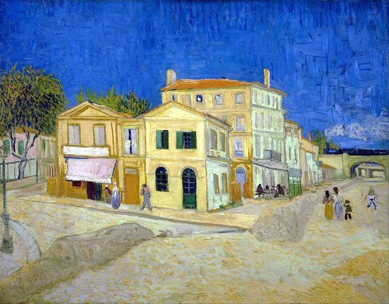 Vincents House in Arles (Casa gialla)   Vincent Van Gogh