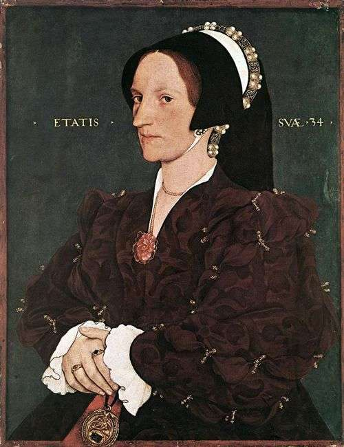 Ritratto di Margarita White Lady Lee   Hans Holbein