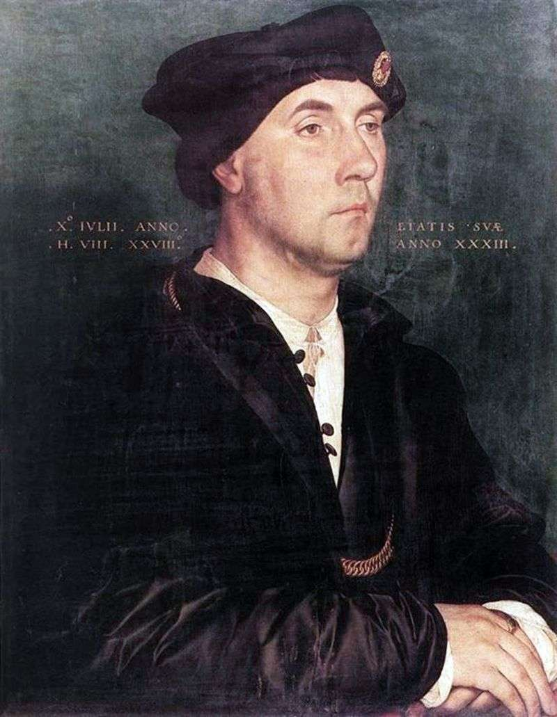Ritratto di Sir Richard Southwell   Hans Holbein