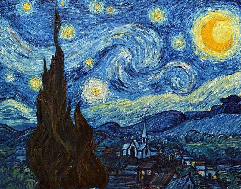 Vincent Van Gogh, Notte stellata Credits: painting-planet.com
