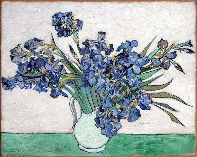 Mazzo Di Fiori Van Gogh.Still Life Vaso Con Iris Vincent Van Gogh