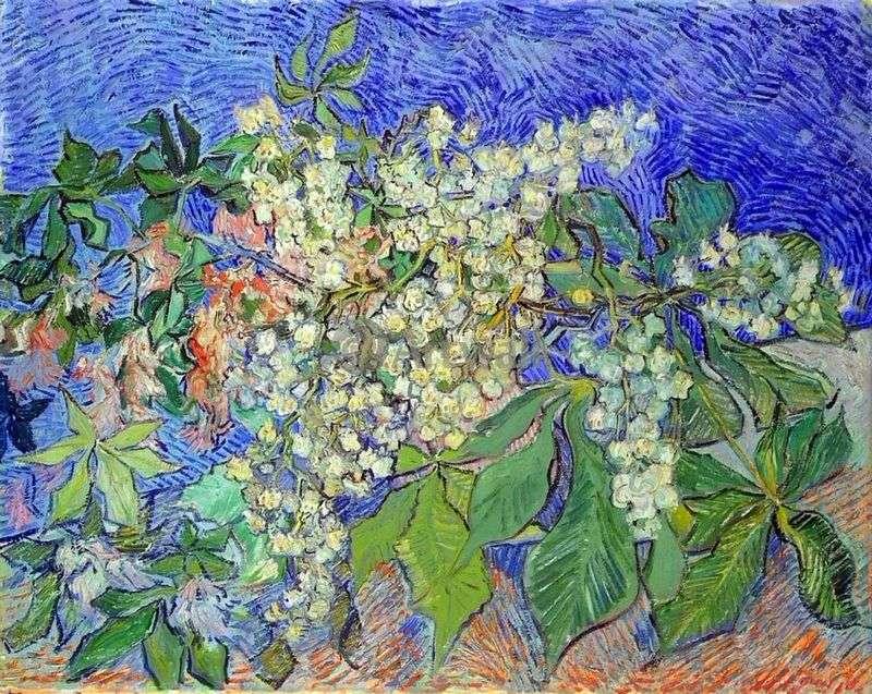Mazzo Di Fiori Van Gogh.Rami Di Castagno In Fiore Vincent Van Gogh
