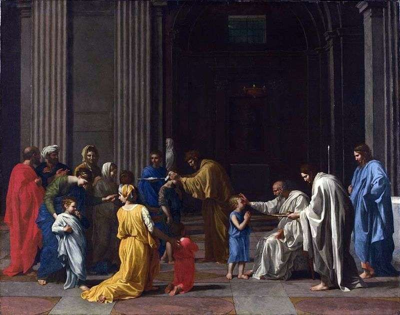 Chrismation   Nicolas Poussin