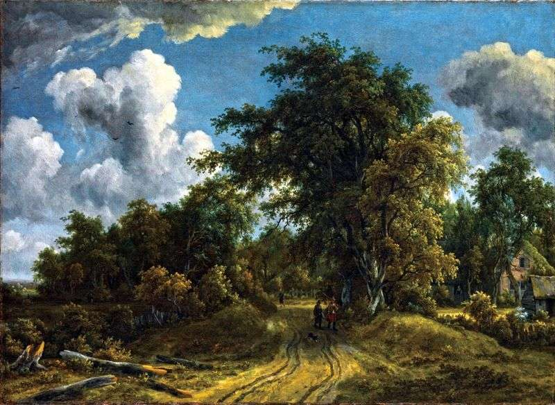 Road to the Forest   Meindert Hobbema