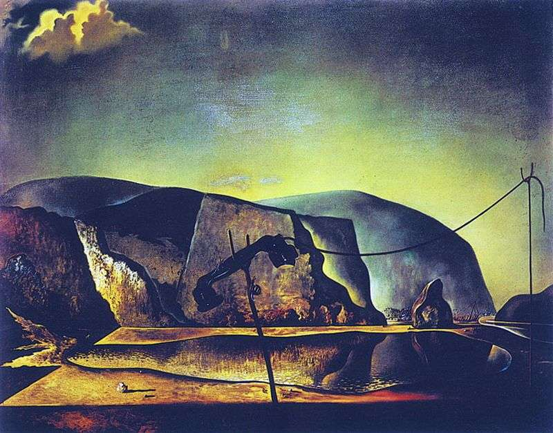 Mountain Lake   Salvador Dali