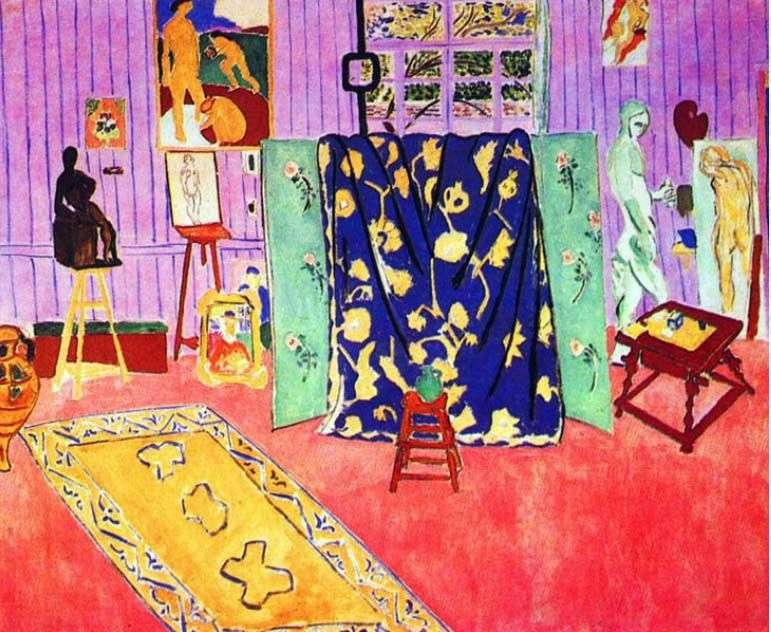 Workshop dellartista   Henri Matisse