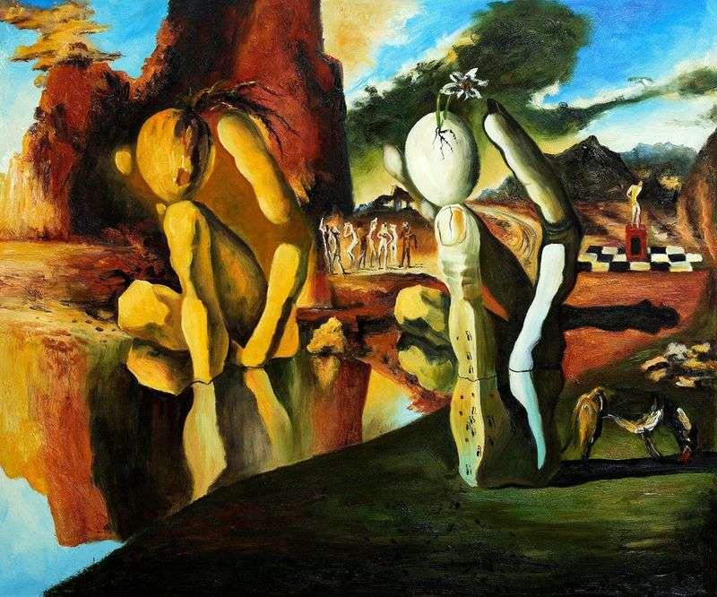 Metamorfosi di Narciso – Salvador Dali