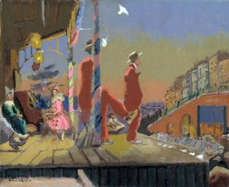 Comici di Brighton   Walter Richard Sickert