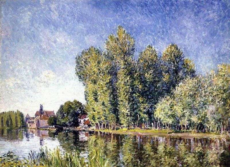 Canale nel mare   Alfred Sisley