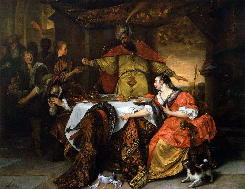 Artaxerxes Anger   Jan Steen