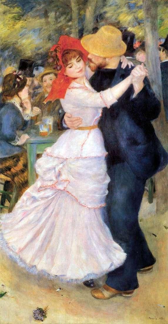 Mazzo Di Fiori Su Una Sedia Renoir.Dance In Bougival Pierre Auguste Renoir