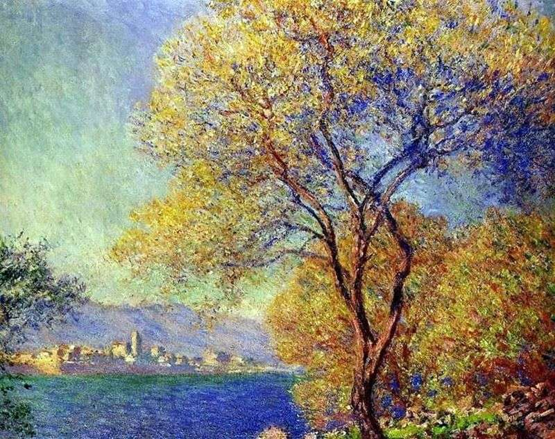Antibes al mattino   Claude Monet
