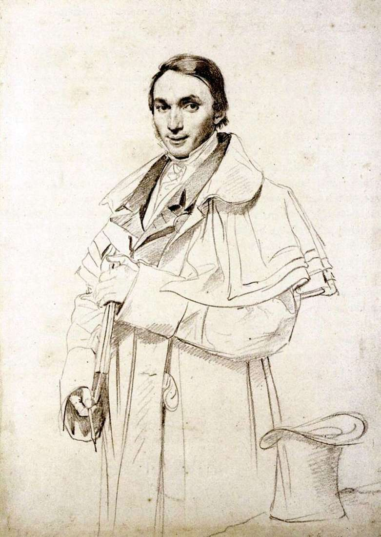 Ritratto di Mr. Foresta   Jean Auguste Dominique Ingres