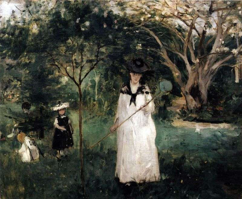Butterfly Fishing   Bertha Morisot