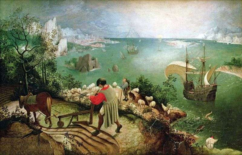 Icarus Fall   Peter Bruegel